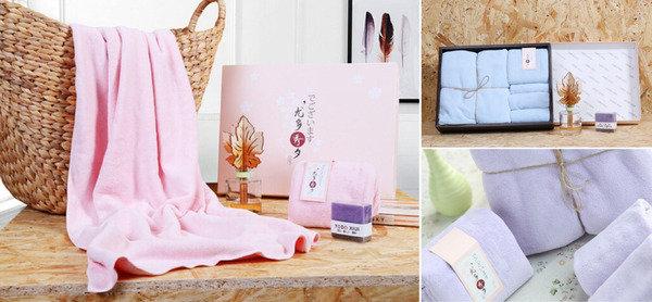 日式家居風格 Yodo日系毛巾套裝
