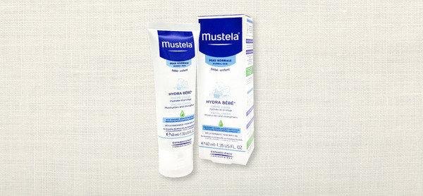滋潤寶寶面部皮膚 Mustela 水份潤面霜