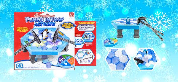 熱爆網絡遊戲 開Party必備 一家大細都岩玩 Funny Game 拯救企鵝敲冰塊遊戲