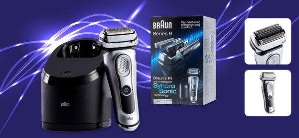 SyncroSonic刀頭 舒適剃淨體驗<br>Braun 9095cc 電鬚刨