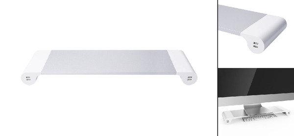 型格整理桌面,顯示屏座連4個USB接口,低至$185