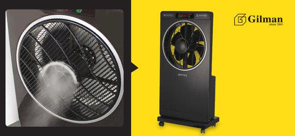 負離子空氣淨化、冷風、保濕多功能噴霧風扇<br>包1年原廠保養