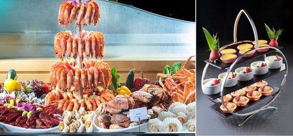 九龍維景酒店 3.5小時自助晚餐 水凝果香龍蝦、鵝肝、燕窩自助晚餐