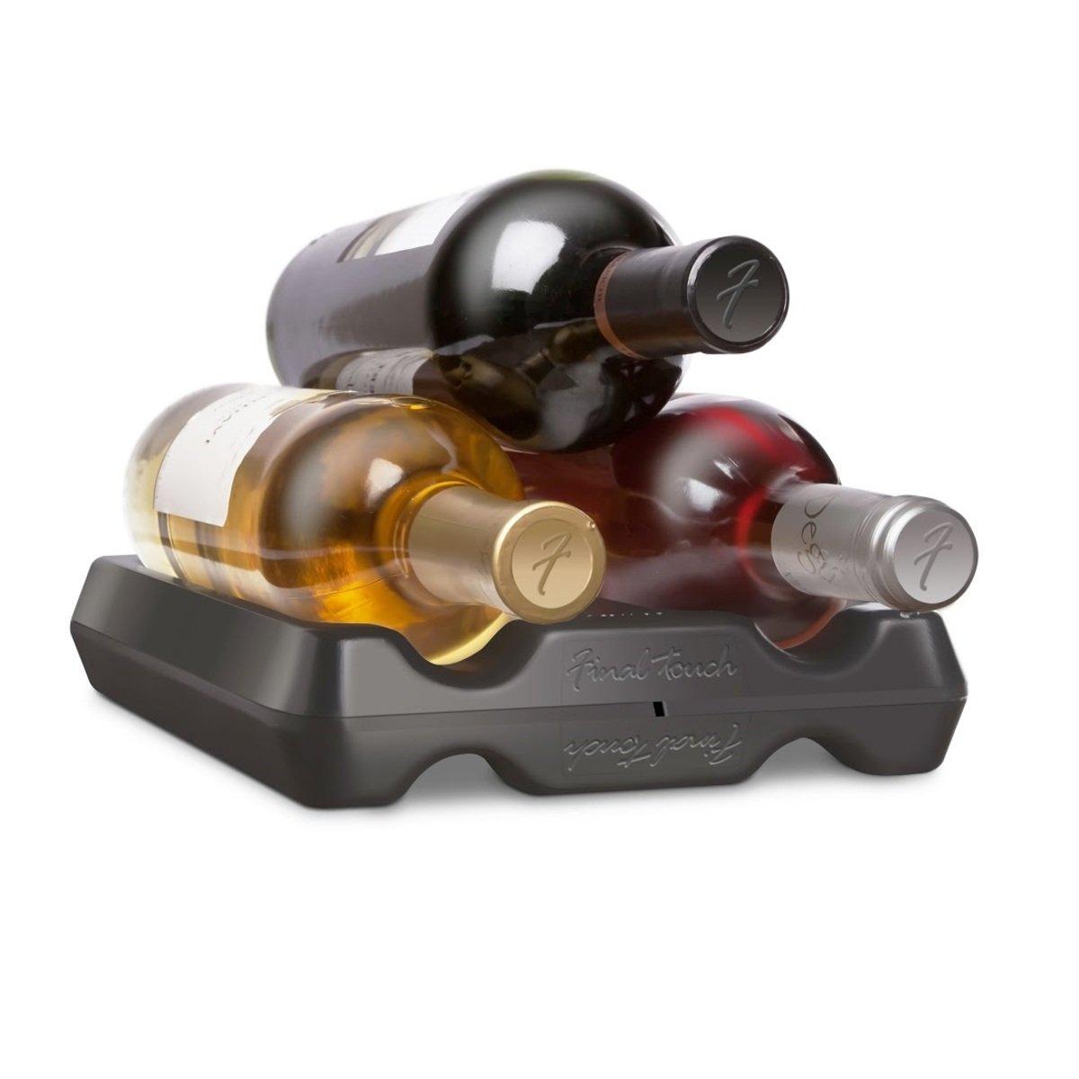 葡萄酒組合式存放器 (黑)