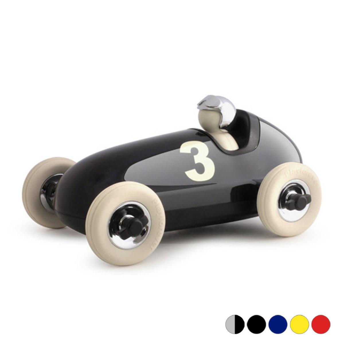 經典布魯諾賽車玩具擺飾 (黑色)