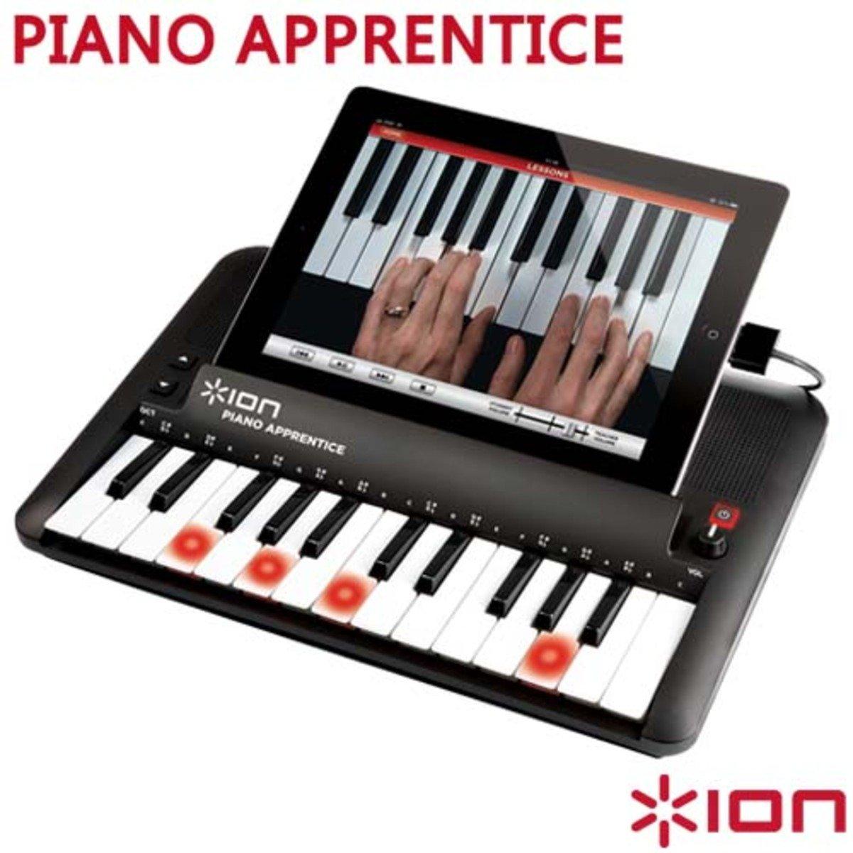 ion Audio PIANO APPRENTICE蘋果專用鋼琴學習機