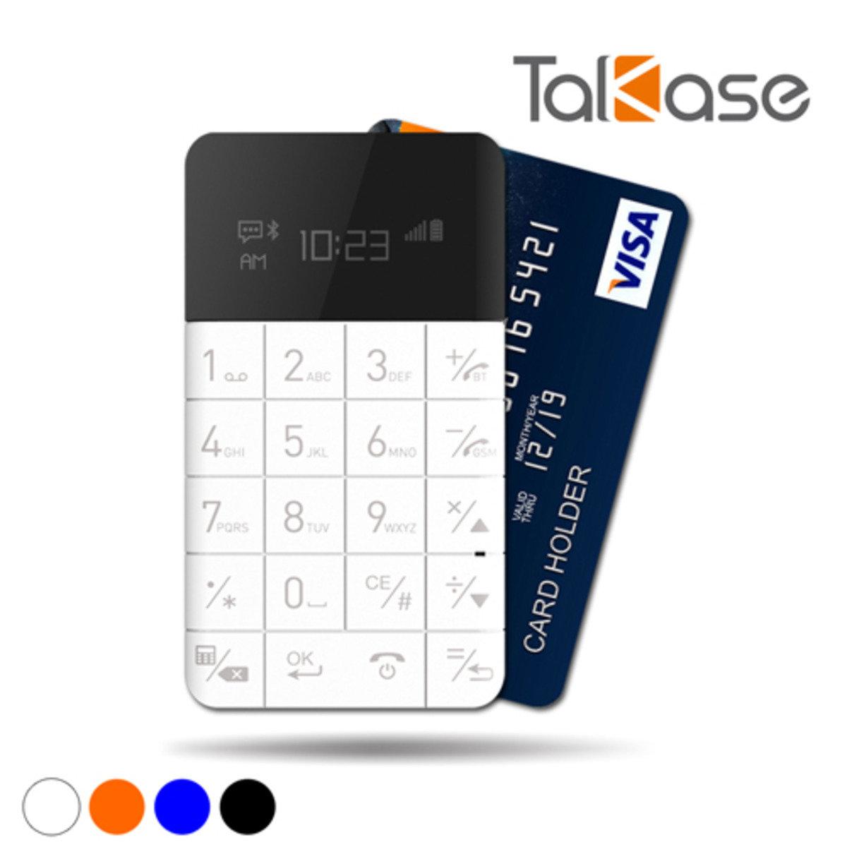 TalKase 超薄智慧卡片機 單機版(白色)