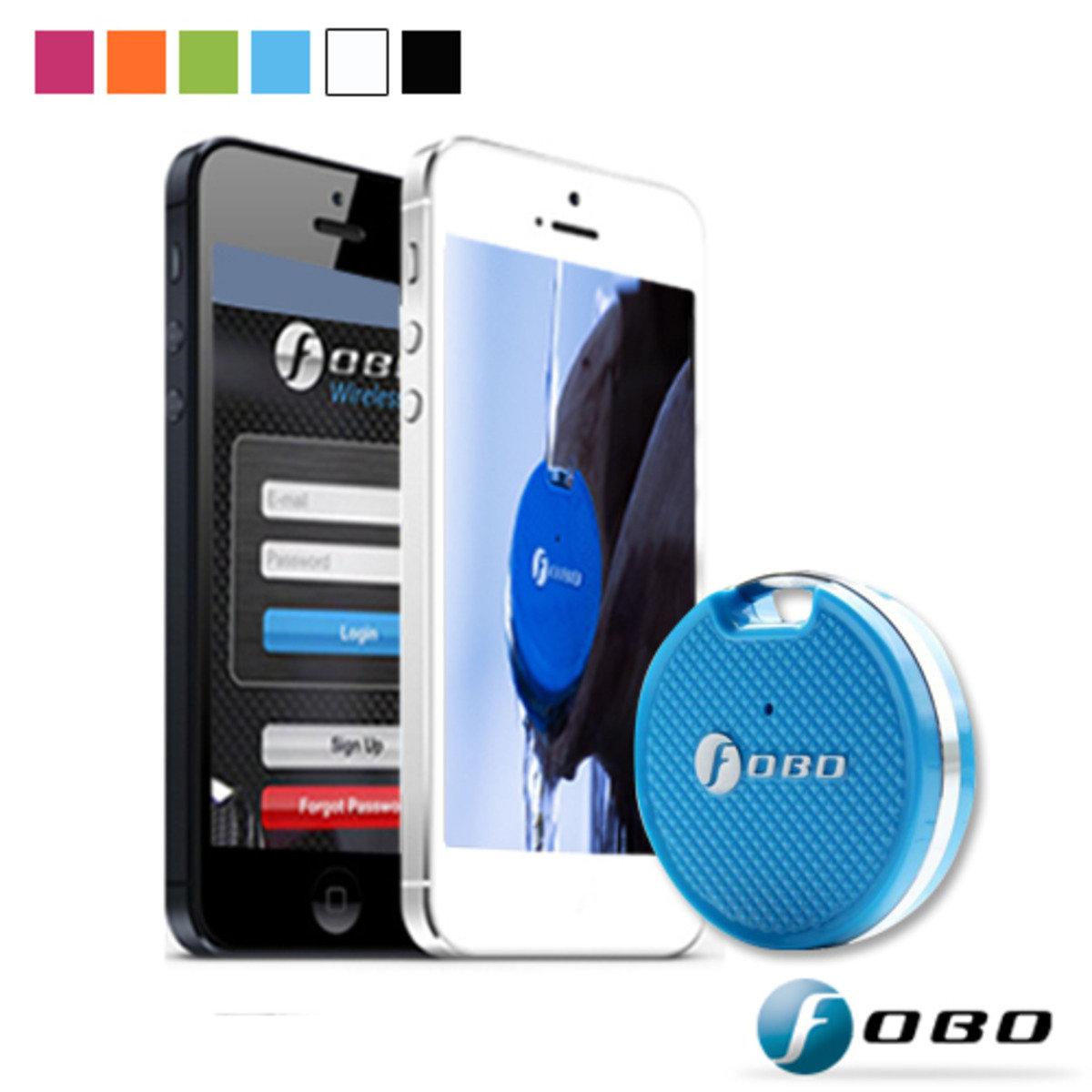 FOBO Tag福保錠-藍芽追蹤器-藍色