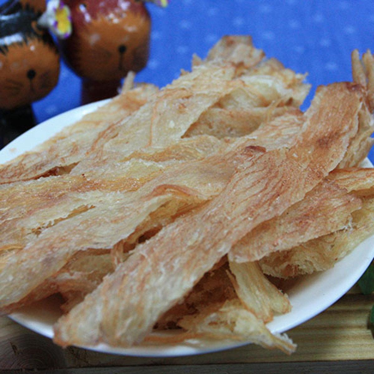 碳烤魷魚切片