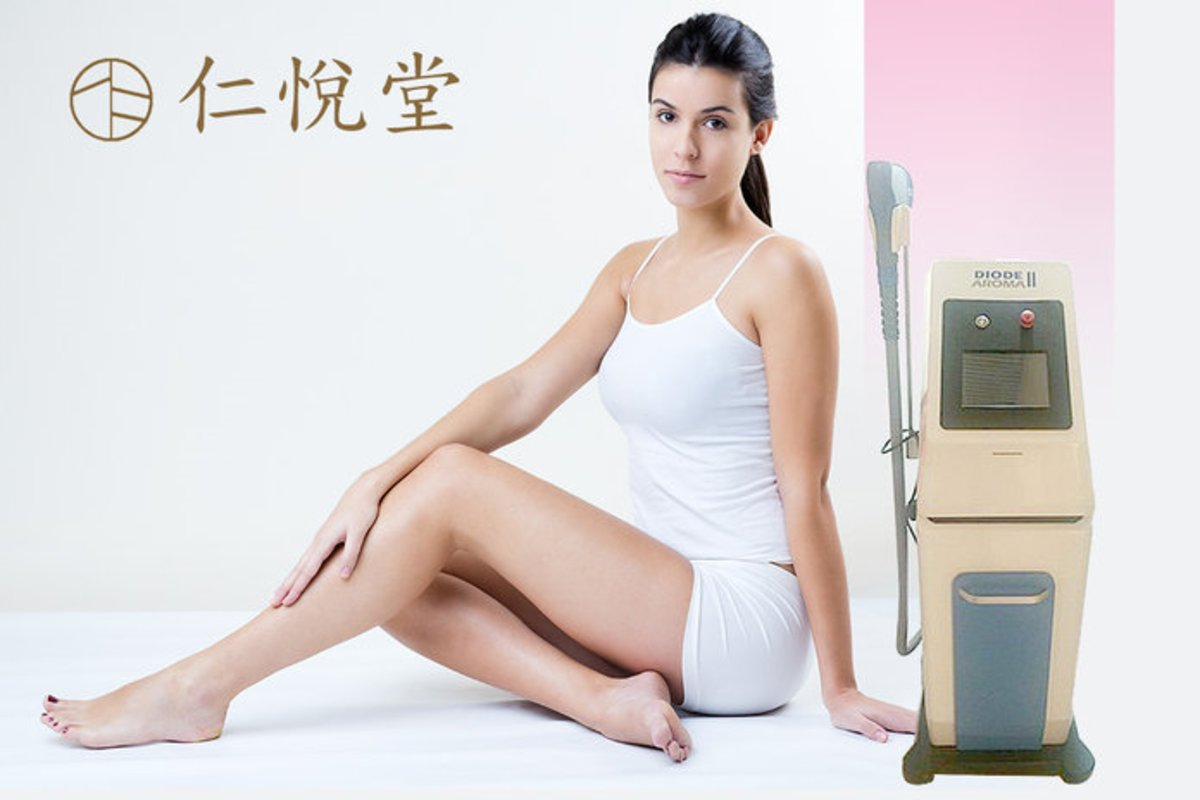 8 Sessions - Aroma 808nm Laser Hair Removal