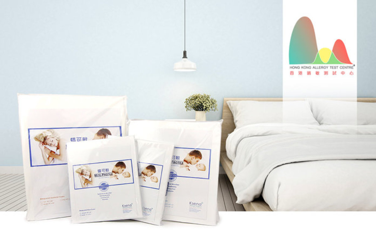 1 Unit (Full Cover, Size 1) - Mattress Case for Infant + 1 Session - Mite Check House Dust Mite Alle