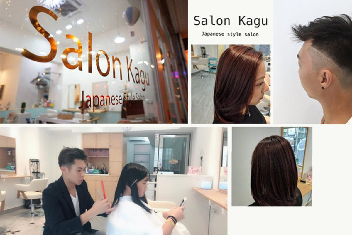 1 session of SalonKagu Hair Wash and Cut Service + Milbon Deesse's 3.1 Hair Treatment