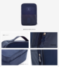(Blue) Korean Style New Shoes Pouch / Travel Bag