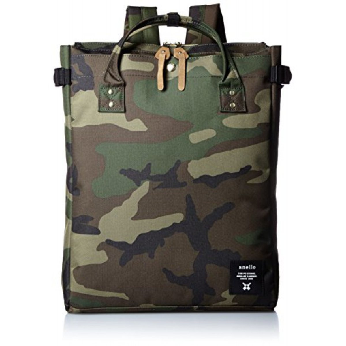 (Camouflage) Japan Anello 2WAY Hand Bag or Backpack