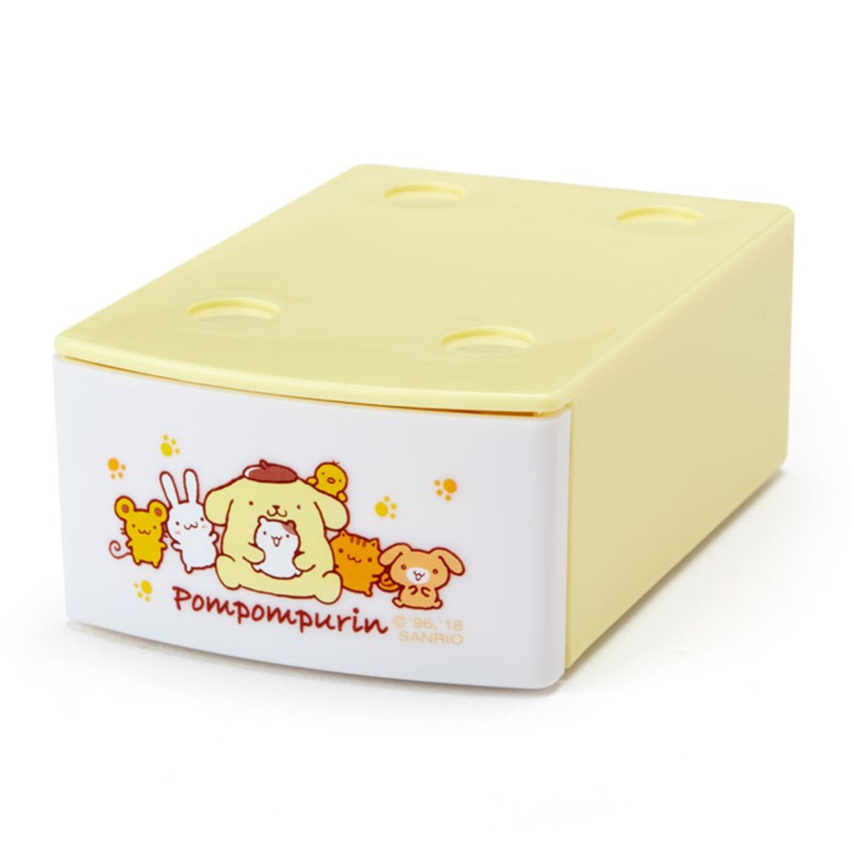 Pompompurin Mini Stacking Case with Memo (20 sheets)
