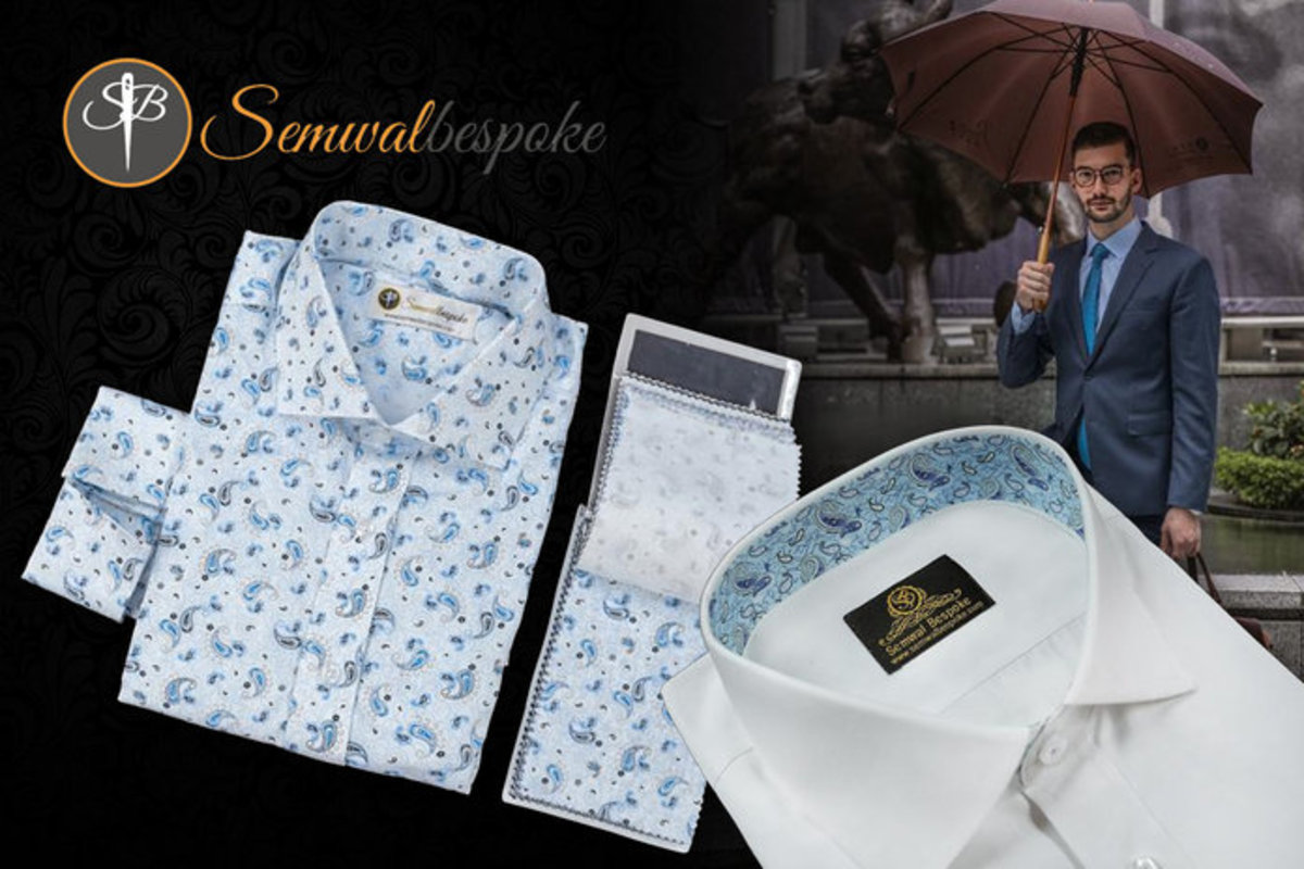 1 Unit - Semwal Bespoke Tailors Cotton Tailored Shirt