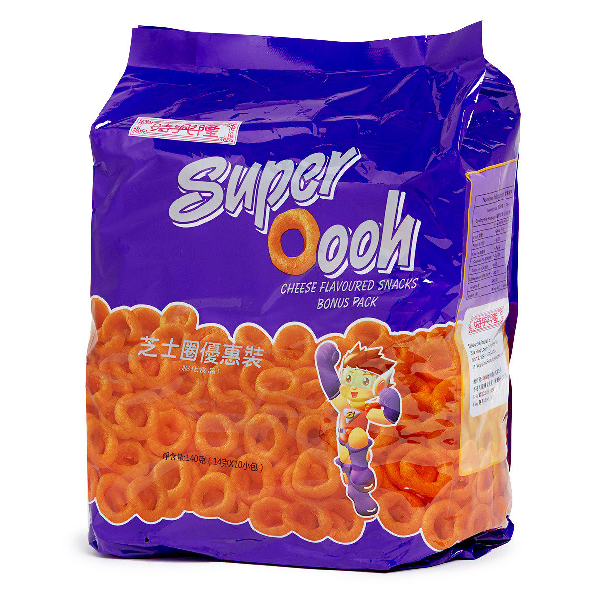 Super Oooh Cheese Flavoured Snack