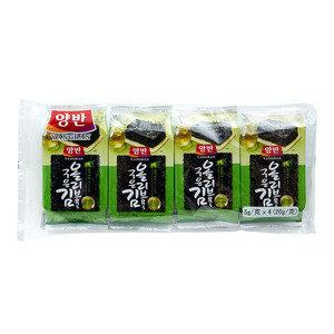 東遠 天然鹽燒海苔 (橄欖油) 5克 x 4