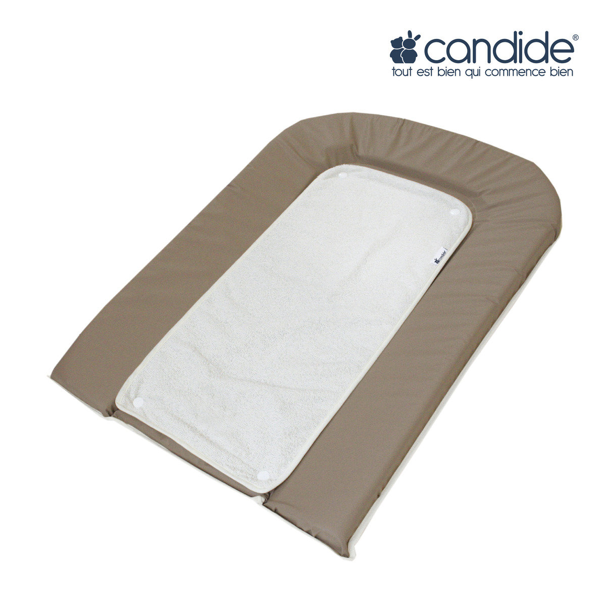 PVC Changing mattress (Taupe)