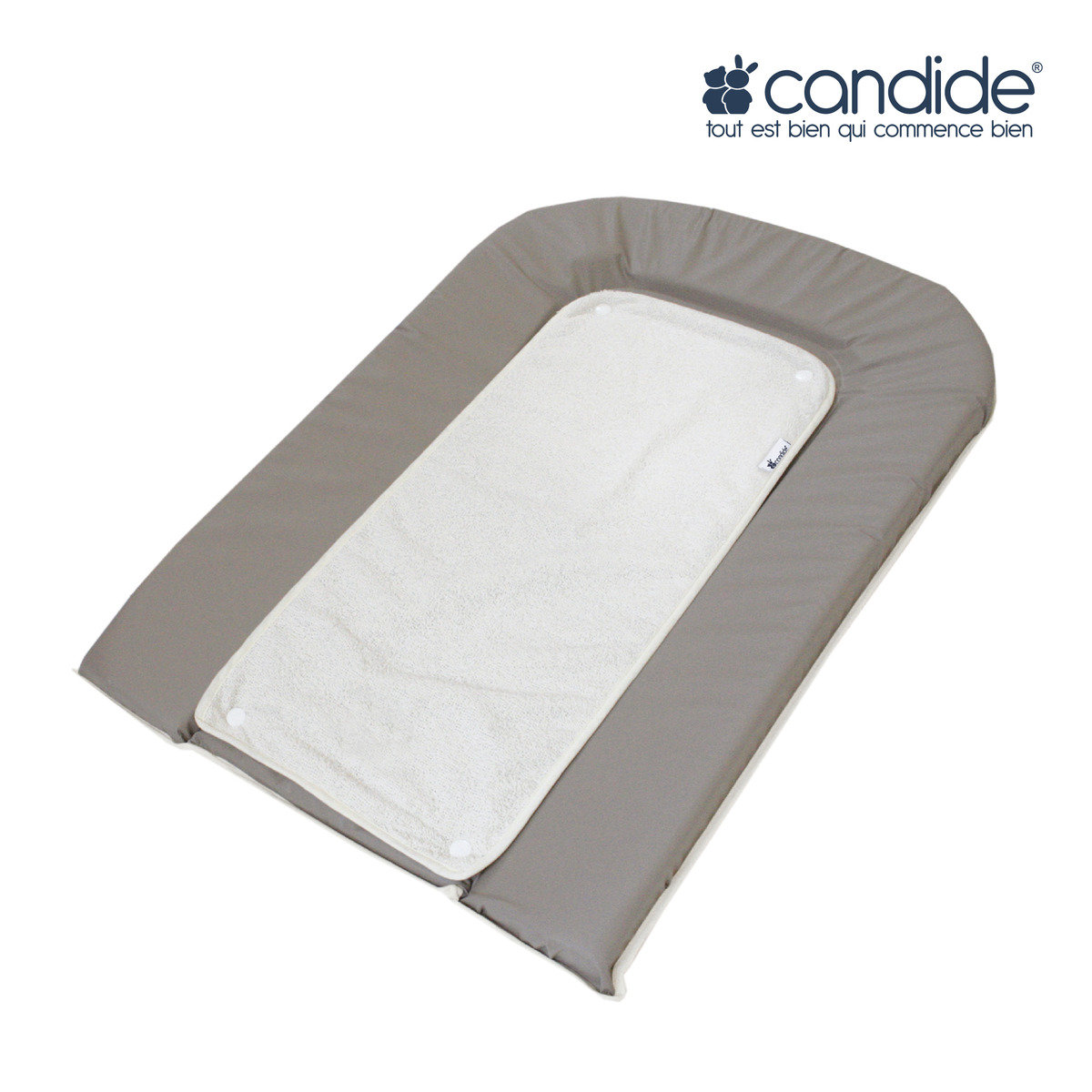 PVC Changing mattress (Gray)