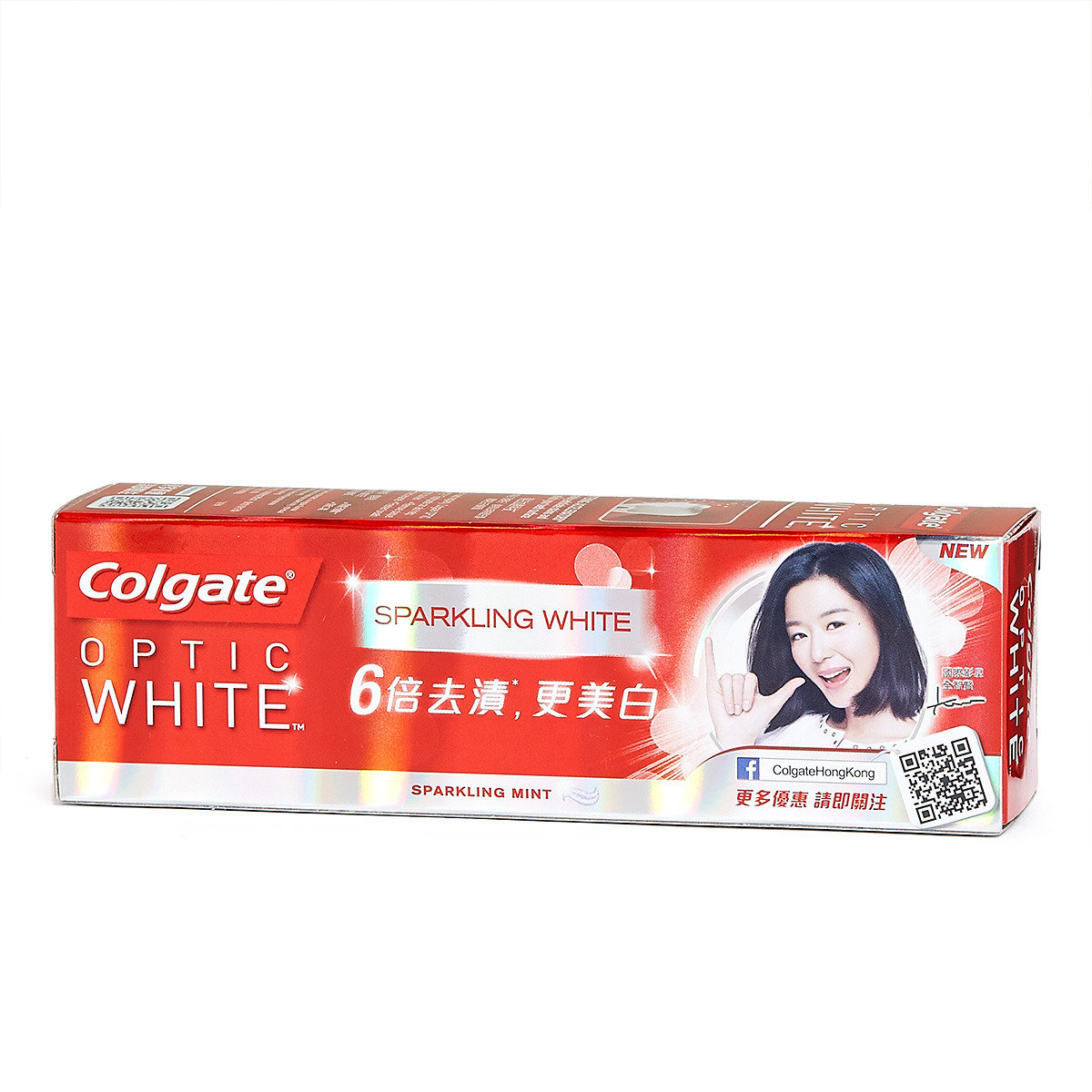 Optic White Sparkling Mint Toothpaste