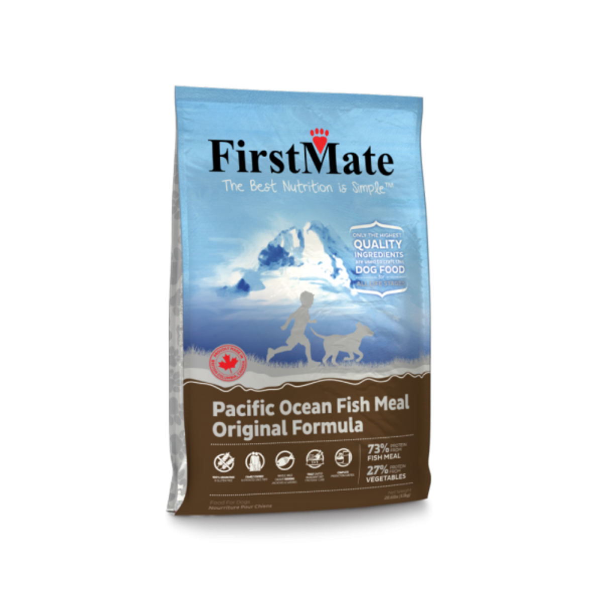FirstMate Grain Free Pacific Ocean Fish Meal – Small Bites 5LB (10030)