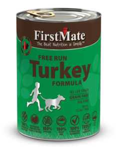 FirstMate Grain Free Turkey Formula (Dog Canned) 345g (30003) (Dealer Goods)