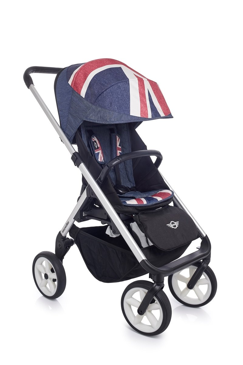 MINI Stroller Union Jack Denim