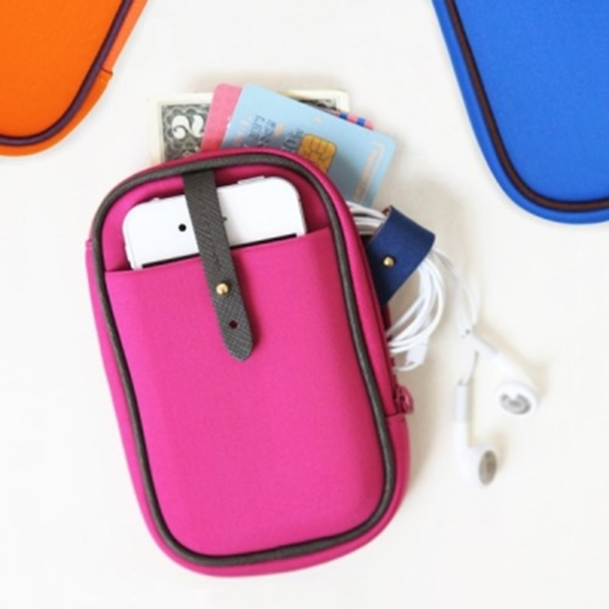 m. Humming Neo smart phone pouch – Hot Pink