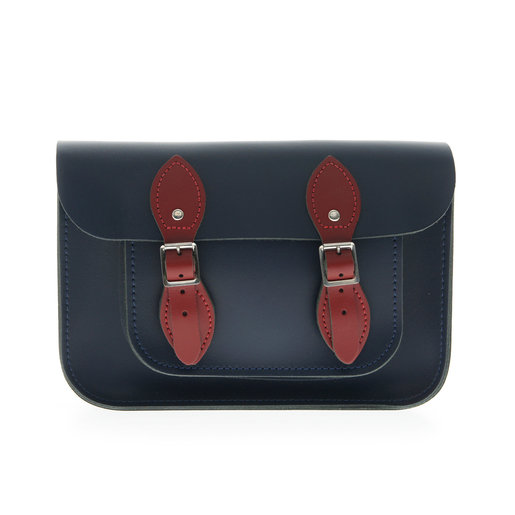 11'' Satchel–Loch Blue | Red