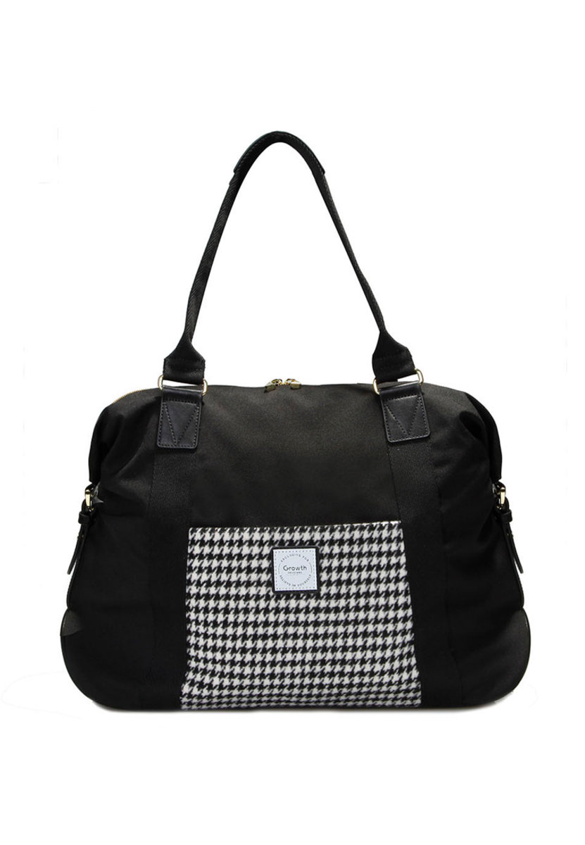 GROWTH Classic Houndstooth Abbery Tote Bag GW-FW17-3137-P006