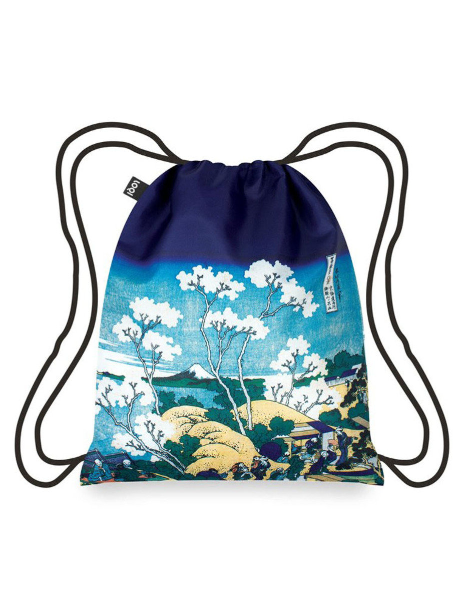 Backpack – Fuji from Gotenyama by HOKUSAI