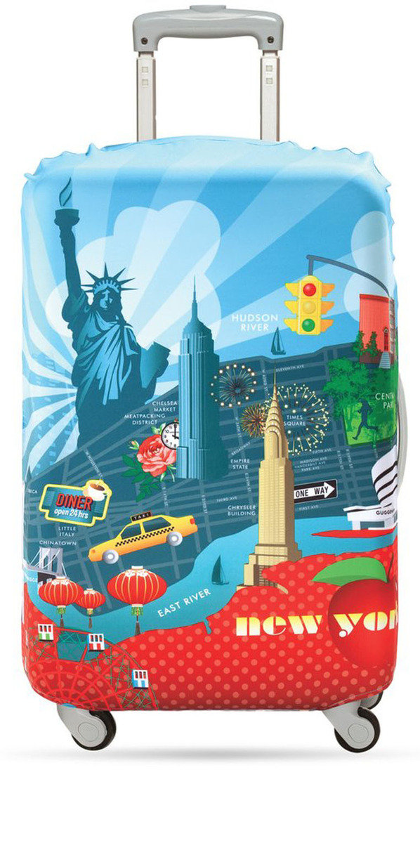 Luggage Cover (S) – New York