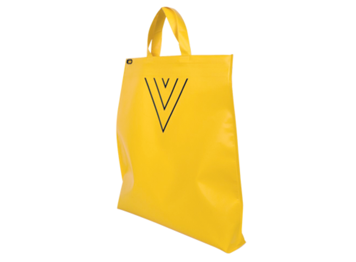 UNITARPER 2WAY TOTE BAG - YELLOW