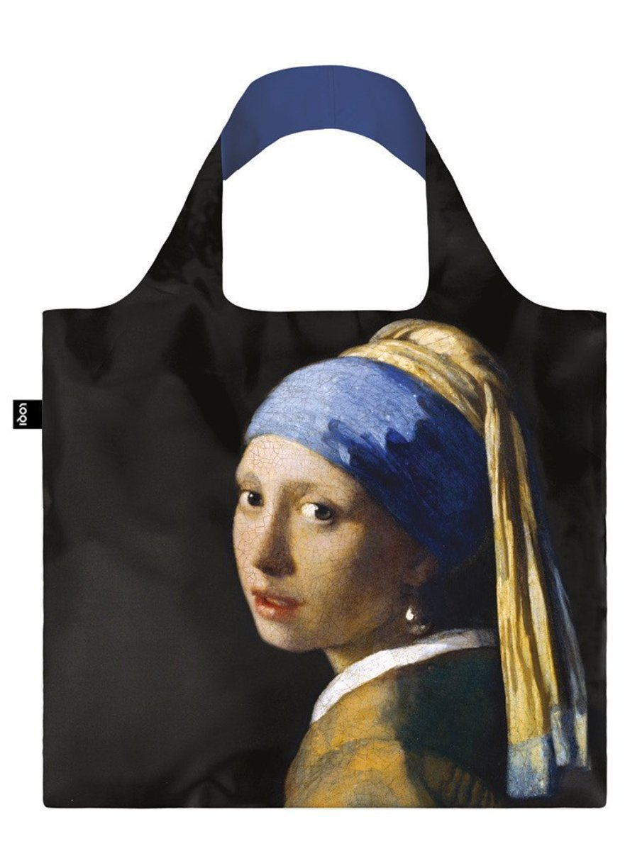 環保購物袋 – Girl with a Pearl Earring by JOHANNES VERMEER