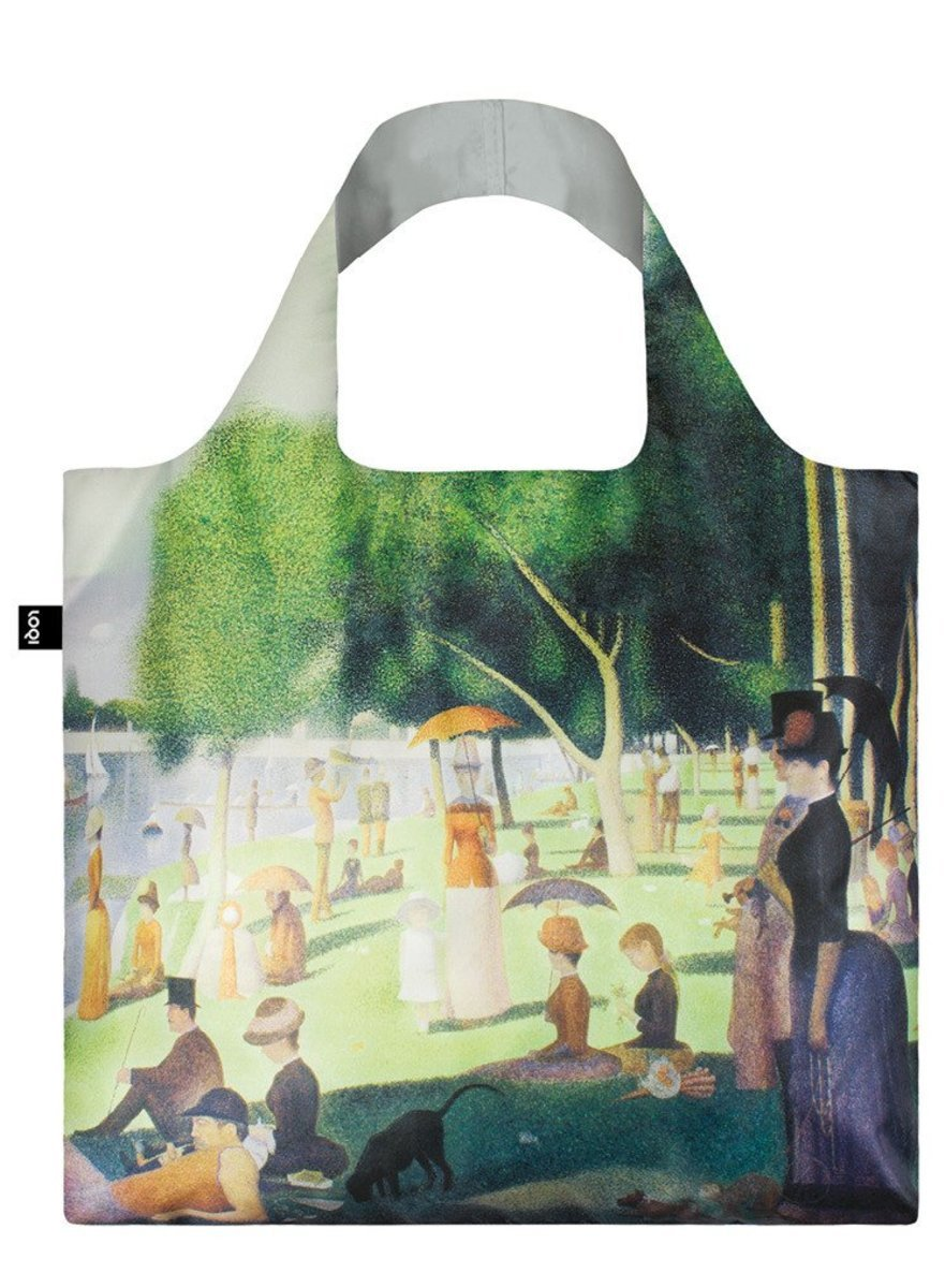 Reusable Bag - A Sunday on the Island of La Grande Jatte by GEORGE SEURAT