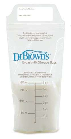 Breastmilk Storage Bags 25-pack