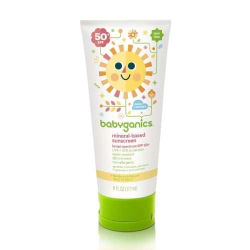 SPF-50 Baby Sunscreen Lotion 6oz (Dealer Goods)