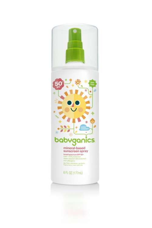 SPF-50 Baby Sunscreen Spray 6oz (Dealer Goods)