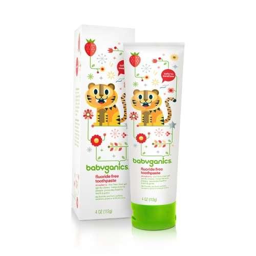 Fluoride Free Toothpaste 113g Strawberry (Dealer Goods)
