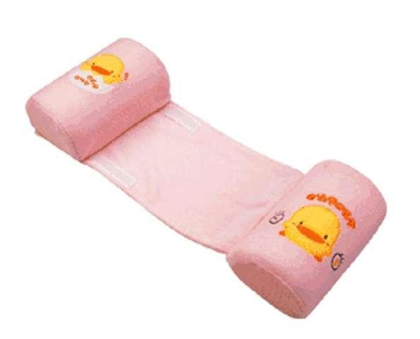 黃色小鴨安全側睡枕 (粉紅色)