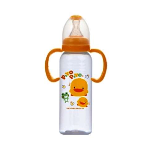 PiYO PiYO Bottle w/Training Handle & Easy Reach Straw 240CC