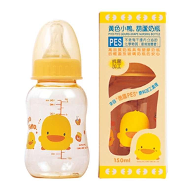 黃色小鴨葫蘆型PES奶瓶 (150CC)