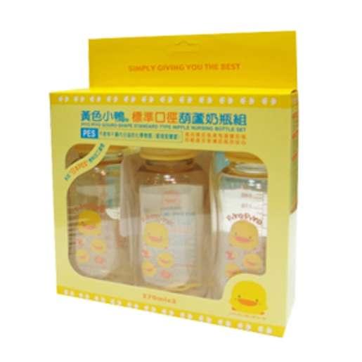 黃色小鴨PES葫蘆奶瓶組 (270CC)