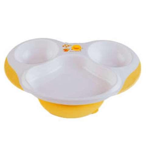 PiYO PiYO Slip-proof 3 section dining plate
