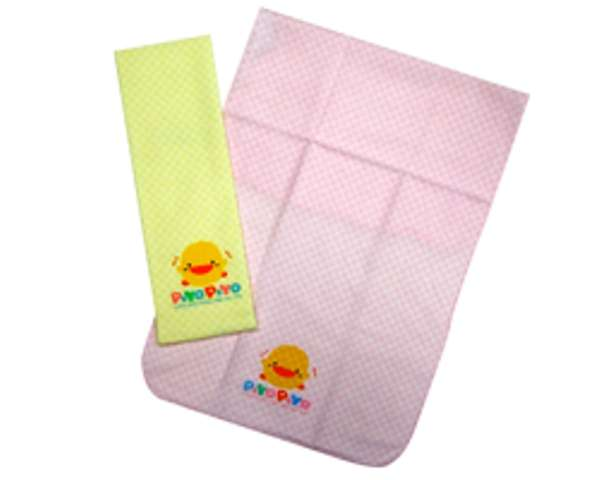 PiYO PiYO Square Bath Towel - Pink