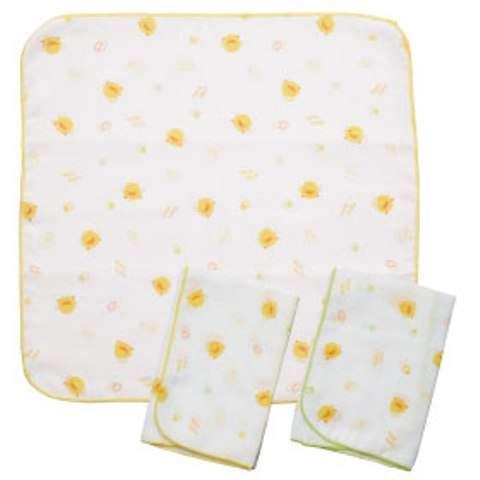 PiYO PiYO Handkechief -3 pcs
