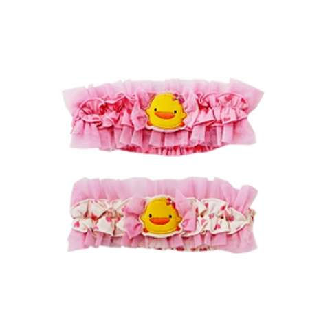 PiYO PiYO Lace Hair band - Pink
