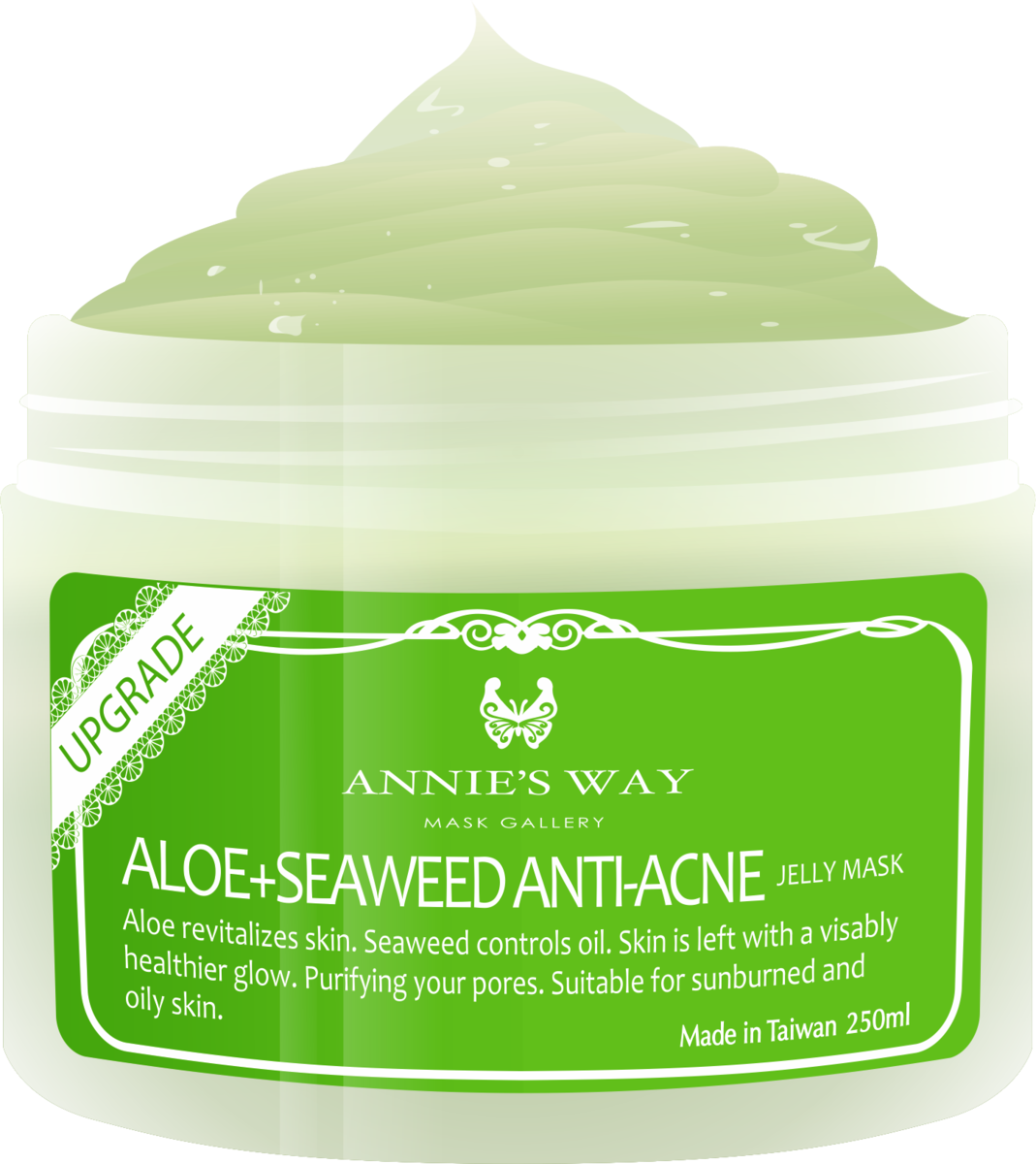 (upgrade)Aloe Moisturizing Jelly Mask 250ml