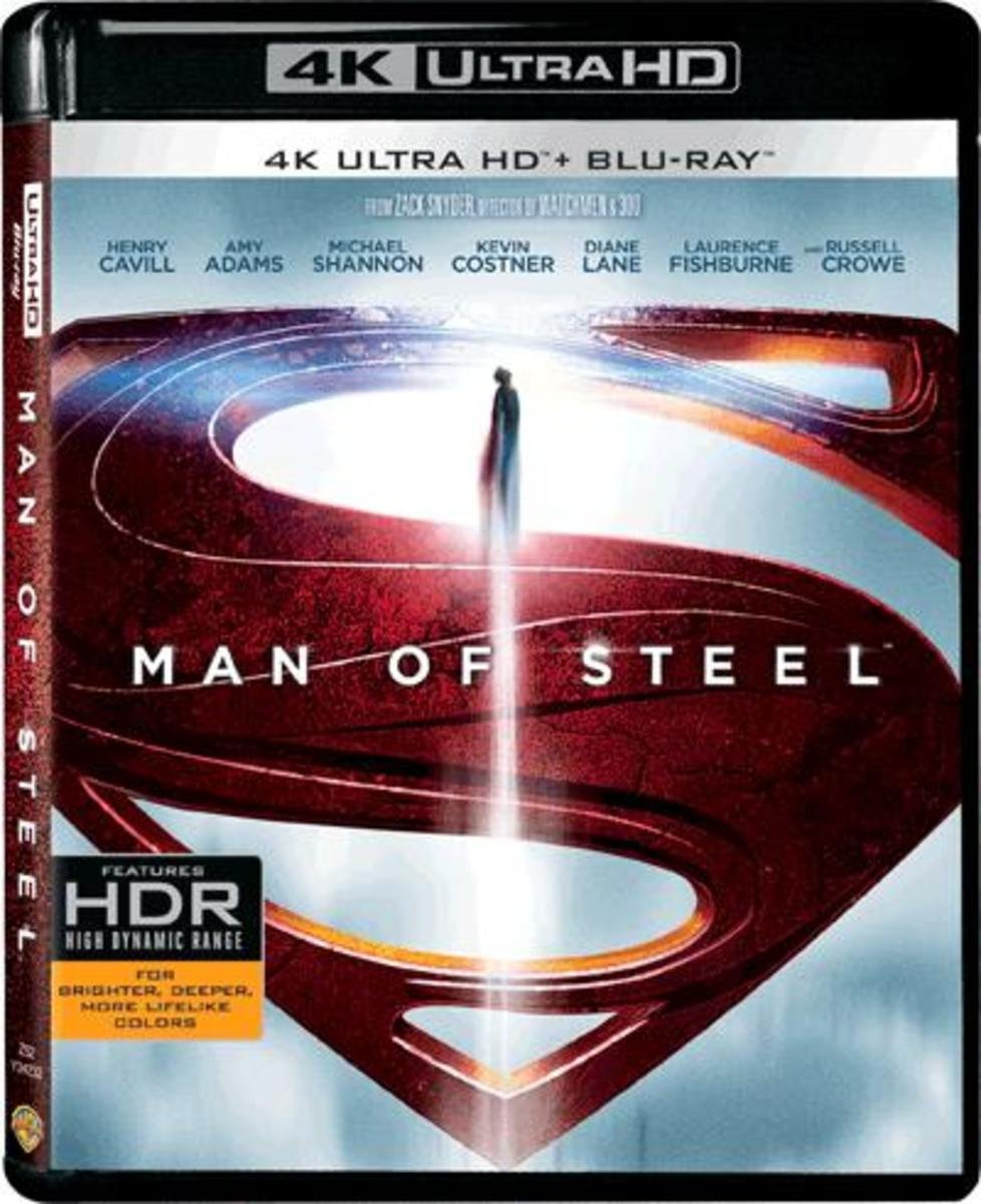 MAN OF STEEL (4K UHD+BD)(2-DISC)